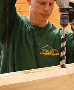 Burghie pentru lemn