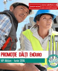 Promoția Dălți EnDuro SDS-Plus & SDS-Max